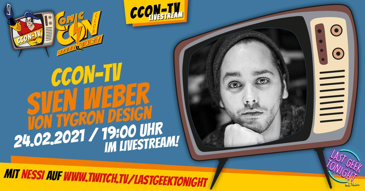 CCON TV Ep4: Sven Weber